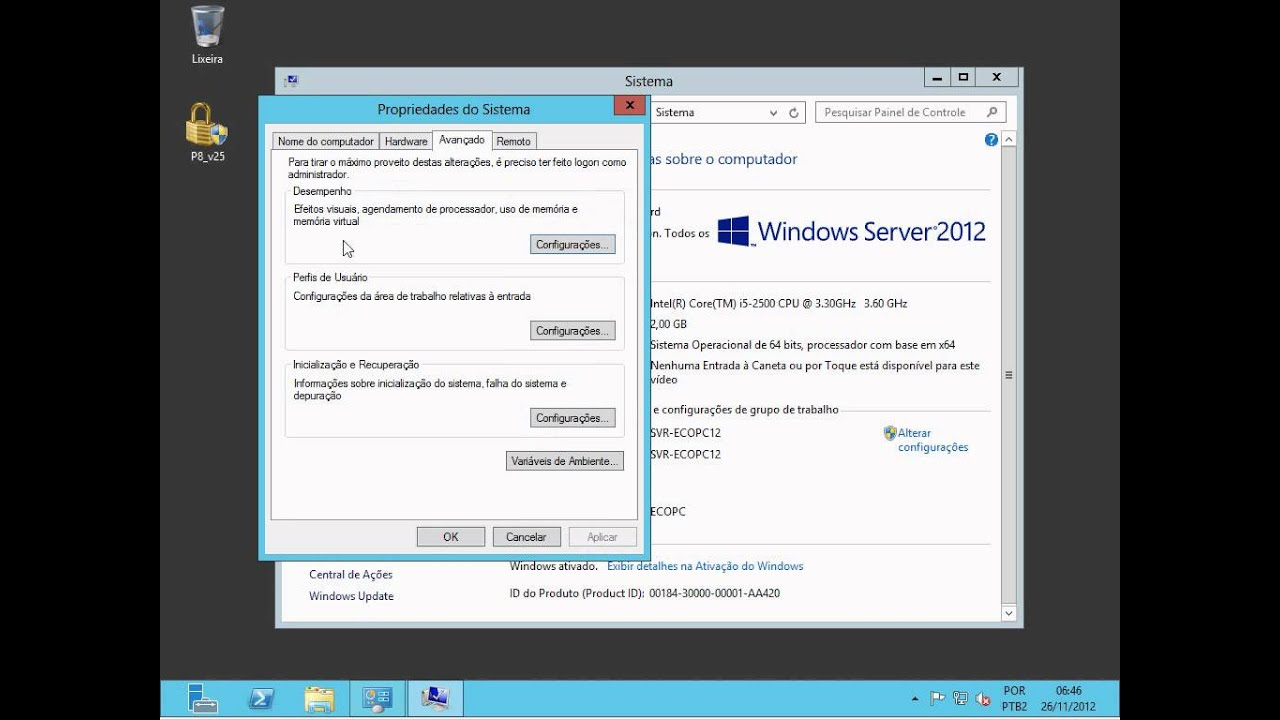 Como Configurar Os Serviços De Terminal No Windows 2012 Server