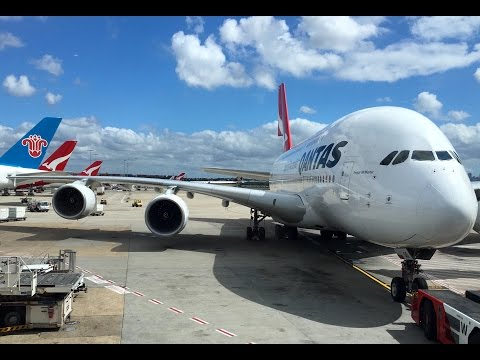 Qantas A380 BUSINESS Class Flight Report - Melbourne to Los Angeles (QF93)