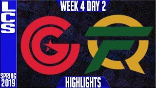CG vs FLY Highlights | LCS Spring 2019 Week 4 Day 2 | Clutch Gaming vs FlyQuest