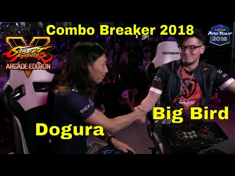 SFV AE - Dogura VS Big Bird   Combo Breaker 2018 - Day 3   CPT 2018