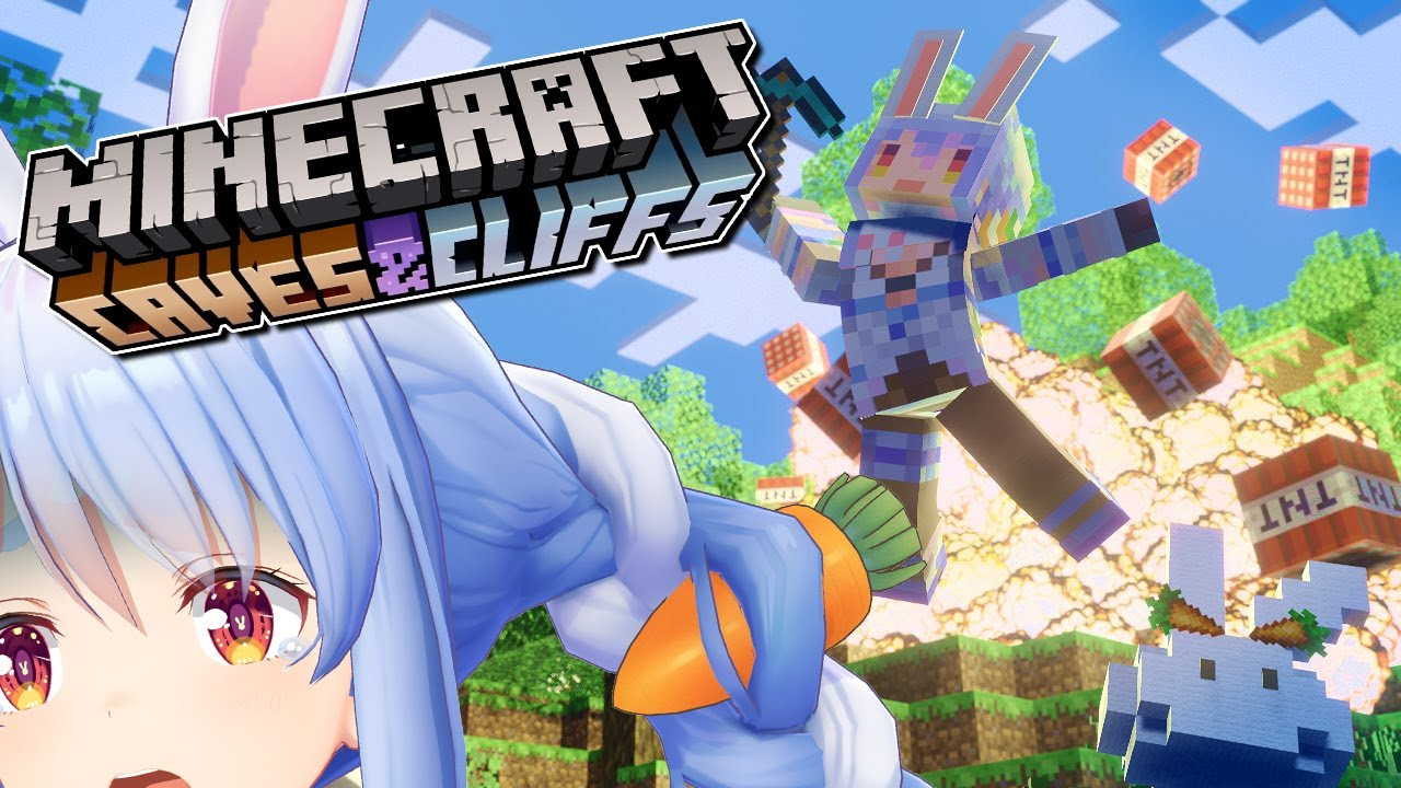 [Minecraft]Let's enjoy Holo mackerel for the first time in a long time!  !!  !!  !!  !! Peko![Holo Live / Pekora Usada]