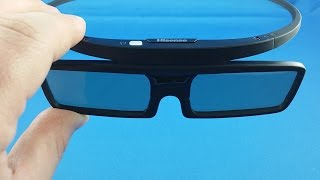 Hisense 3D TV glasses from AliExpress.com Unboxing haul euro app
