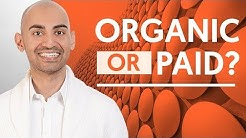 Organic VS Paid Marketing Search Strategies The Pros and Cons | Neil Patel