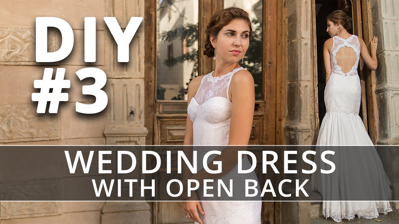 How to make a Wedding Dress? DIY Sew your own Bridal Gown. #3 - YouTube