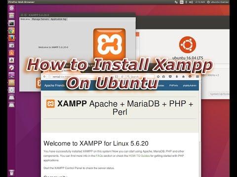 Xampp Ubuntu Startup