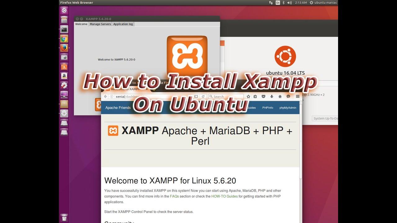 install xampp on ubuntu 12.04