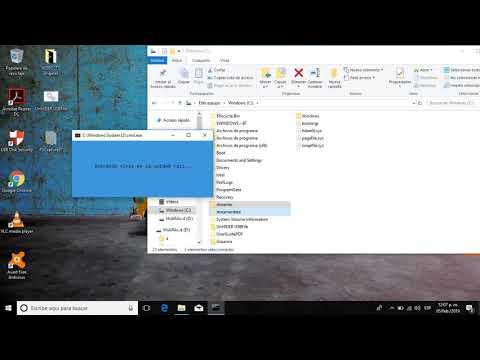 Eliminando el virus Streamerdata con UnHIDER USBFile