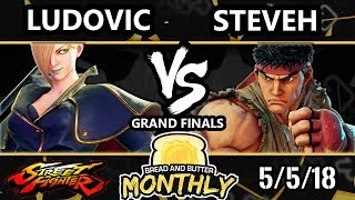 BnB 2 SFV - Ludovic (Falke, Chun-Li) Vs. steveh [L] (Ryu) - Street Fighter 5 Grand Finals