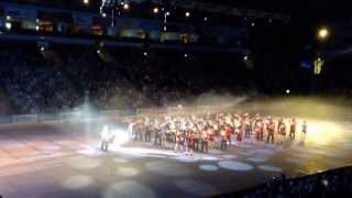 Dunganon/Murley Massed Silver Bands, Great Escape & Hello Dolly, Belfast Tattoo 2013