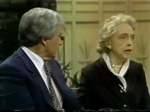 Myrna Loy, Lillian Gish, 1980 TV Interview