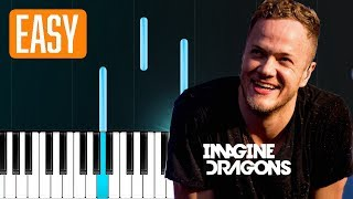 Imagine Dragons - Machine (100% EASY PIANO TUTORIAL) Video