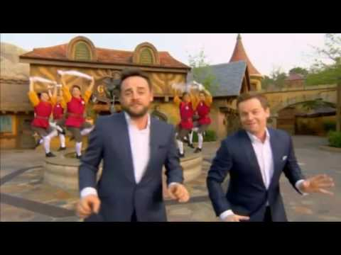 Ant And Dec Saturday Night Takeaway Opening Live From Florida