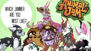 animal jam which famous jammer are you