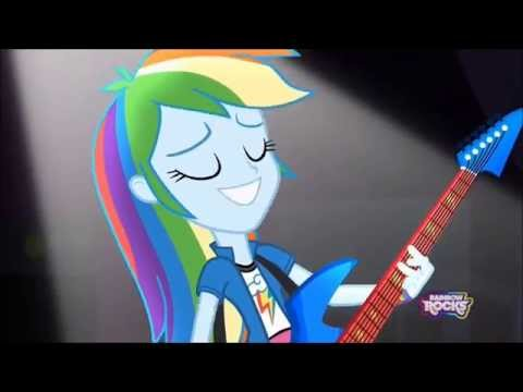 MLPEG Rainbow Rocks Awesome as i wanna be