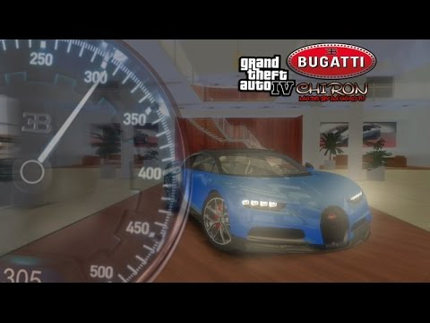 GTA 4 Bugatti Chiron Sound (Real) 2018