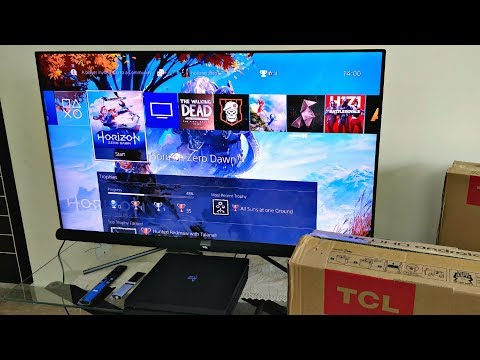 TCL C6 - Best Budget 4K UHD LED With HDR PRO & Google Android - (TCL Line-Up 2018) Unboxing