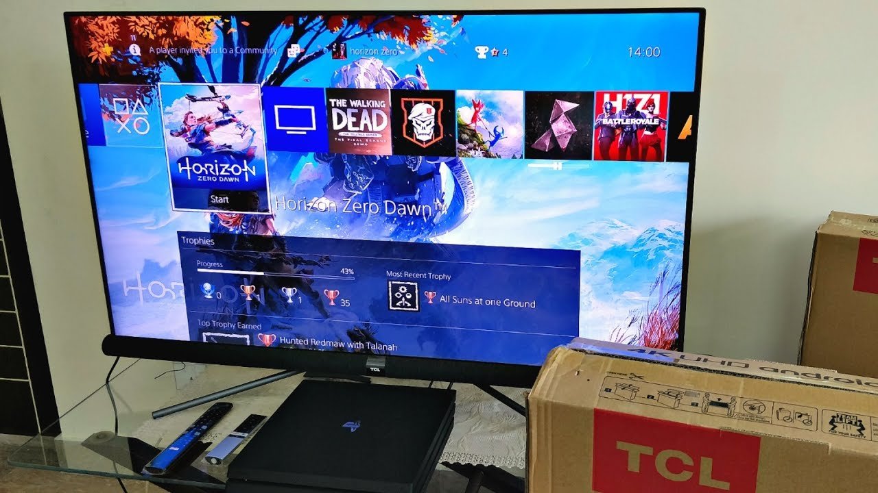 09a06eeef2b TCL C6 - Best Budget 4K UHD LED With HDR PRO   Google Android - (TCL  Line-Up 2018) Unboxing