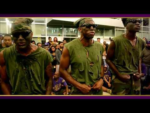 Omega Psi Phi Fraternity, Inc. Spring 2017 Alpha Delta Epsilon Probate:  Da 3 Bloody Henchmen