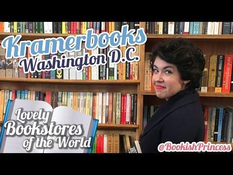 Lovely Bookstores of the World 📖 | Kramerbooks in Washington D.C.