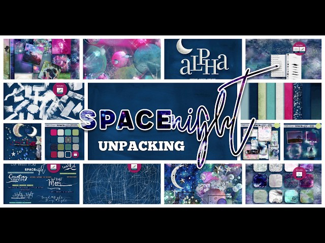SPACE NIGHT - UNPACKING - by NBK-Design