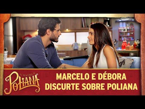 Marcelo E Débora Discutem O Discurso De Poliana | As Aventuras De Poliana
