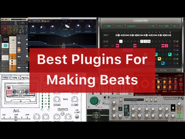 Best Plugins For Making Beats!