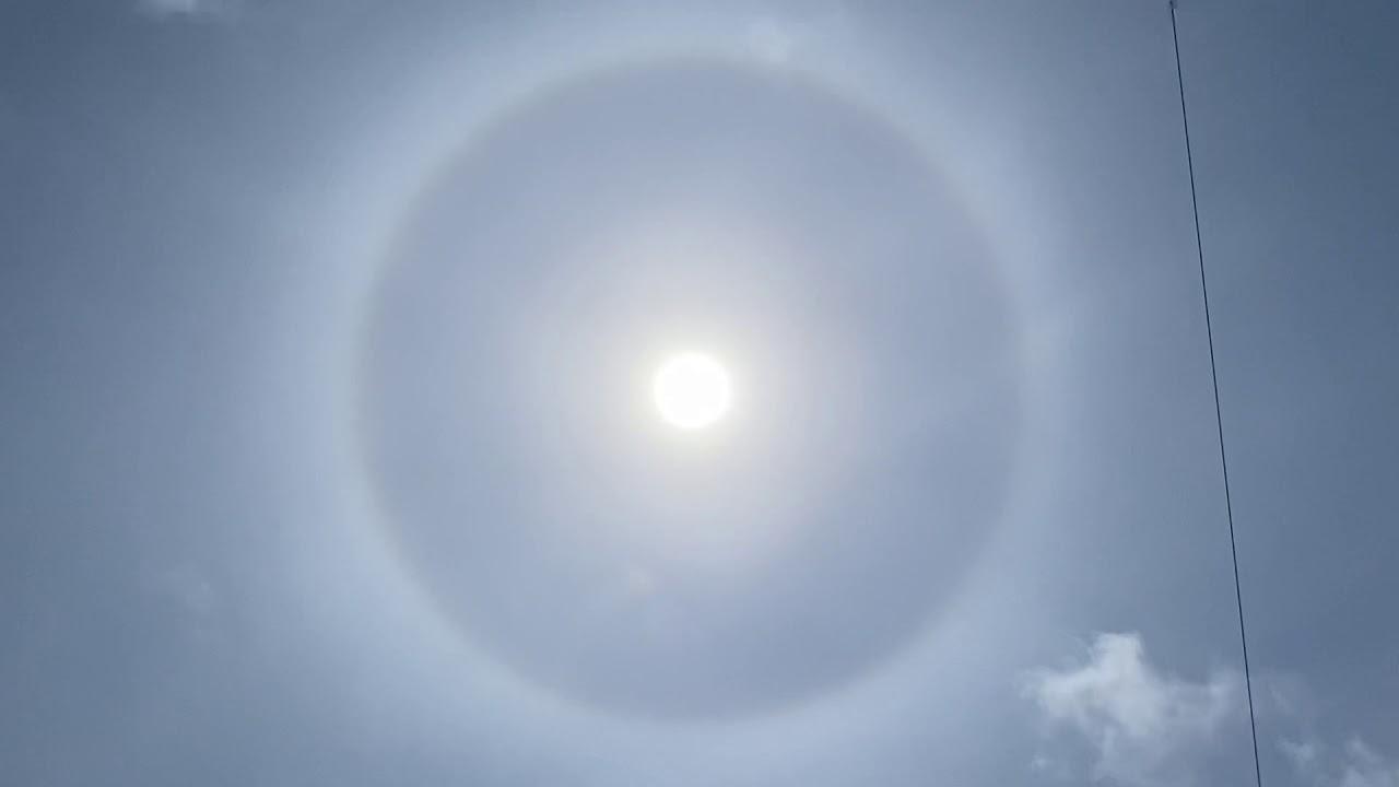 Halo Solar El Cabanyal Valencia 24 05 2020 Youtube