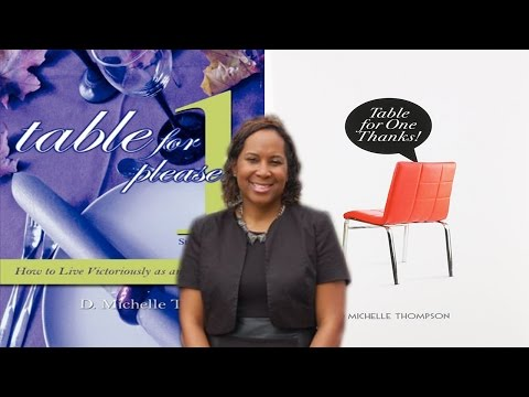 D Michelle Thompson Speaks On Being Whole While Single,Baggage,Soul Ties & Desperate Church Women