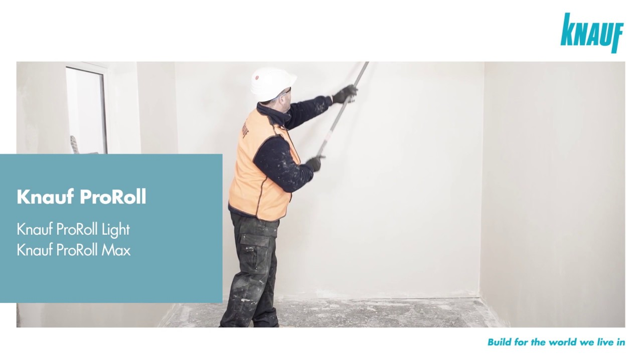 how to apply knauf proroll - youtube