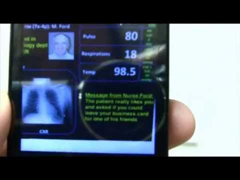 Augmented Reality on Patient Hospital Doors