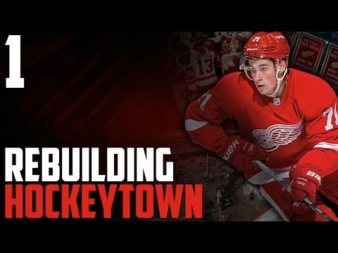 """NHL 17 - Detroit Red Wings Franchise Mode #1 """"Getting Started"""""""