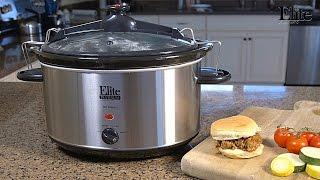 Maxi-Matic Elite Platinum Slow Cooker