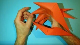 видео Как сделать дракона из бумаги