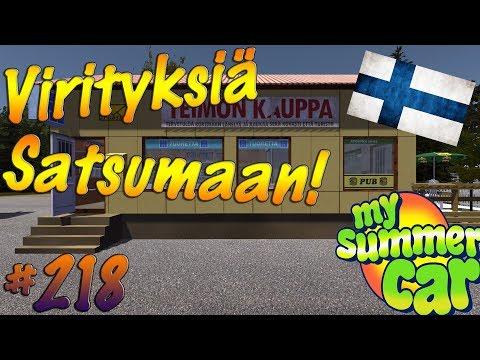My Summer Car #218 | Virityksiä Satsumaan!