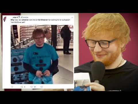 Ed Sheeran Answers Fans' TWITTER Questions Backstage At London Gig, With KISS