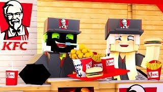 ARBEITEN im KFC! - Minecraft [Deutsch/HD]