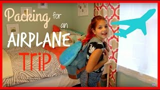One of Annie & Hope's most viewed videos: Airplane Essentials Tips for Traveling | Holiday Carry on Bag Packing Ideas | best friends