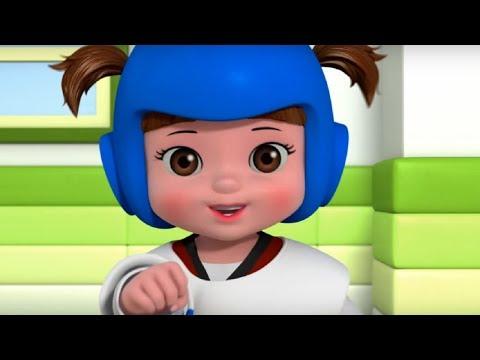 Песенка про тхэквондо  - Консуни песенка 11 - Taekwondo- Kids Cartoon