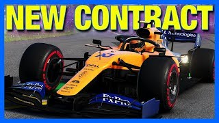 F1 2019 Career Mode : NEW CONTRACT!! (Part 23)