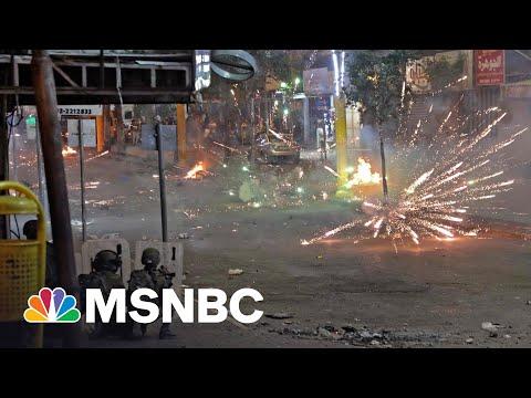 Dozens Killed In Worst Israeli-Palestinian Violence In Years