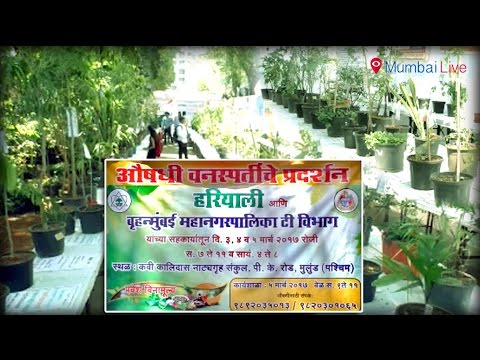 Herbal plants exhibition in Malad | Mumbai Live