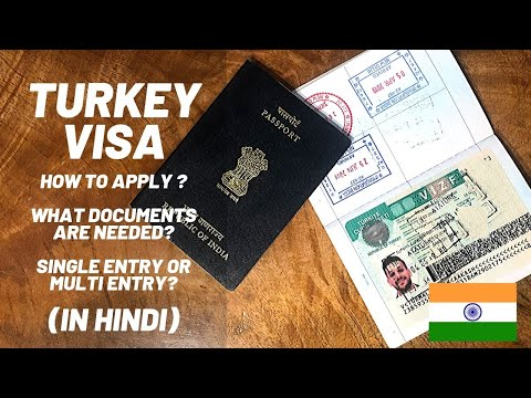 Turkey Visa For INDIANS In HINDI | Visa For Turkey | Everything You Need To Know!