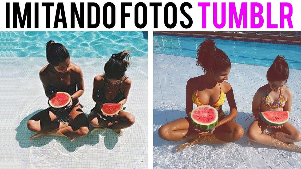 Imitando fotos tumblr deu ruim youtube for Fotos tumblr piscina