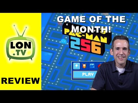 Game Of The Month Ep. 1 : Pac-man 256 For IOS And Android