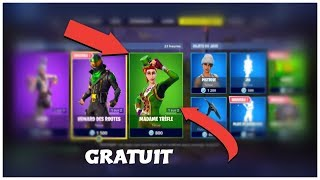 "HOW TO HAVE THE SKIN ""MADAME TREFLE - GOLD SCEAU"" FREE ON FORTNITE!"