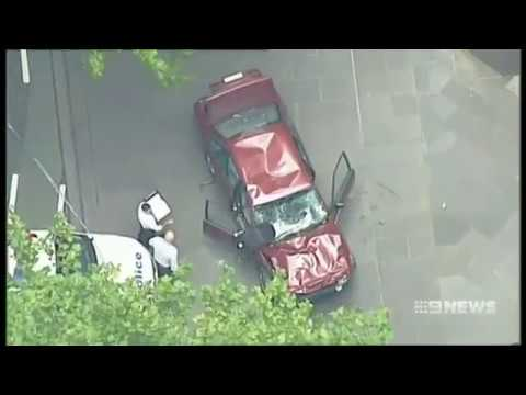 Police Pursuit through Melbourne CBD