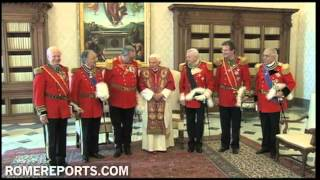 Pope meets with Grand Master of the Order of Malta