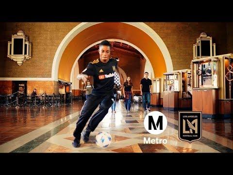 Go Metro to Banc of California Stadium (feat. Latif Blessing)
