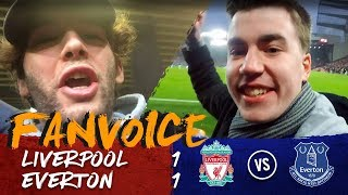 Salah goal & Rooney penalty in the Merseyside derby! | Liverpool 1-1 Everton | 90min FanVoice