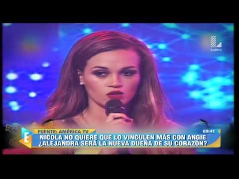 ¿Alejandra Baigorria será la nueva dueña del corazón de Nicola?